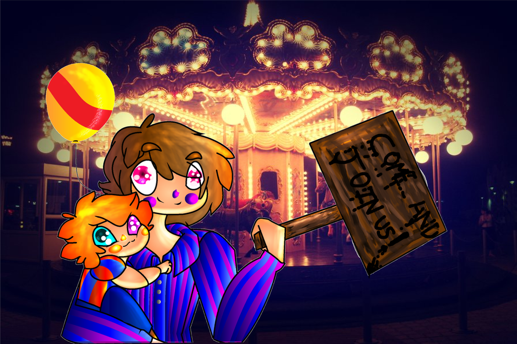FNAF: BB and JJ JOIN US(VERY IMPORTANT) by ModernLisart