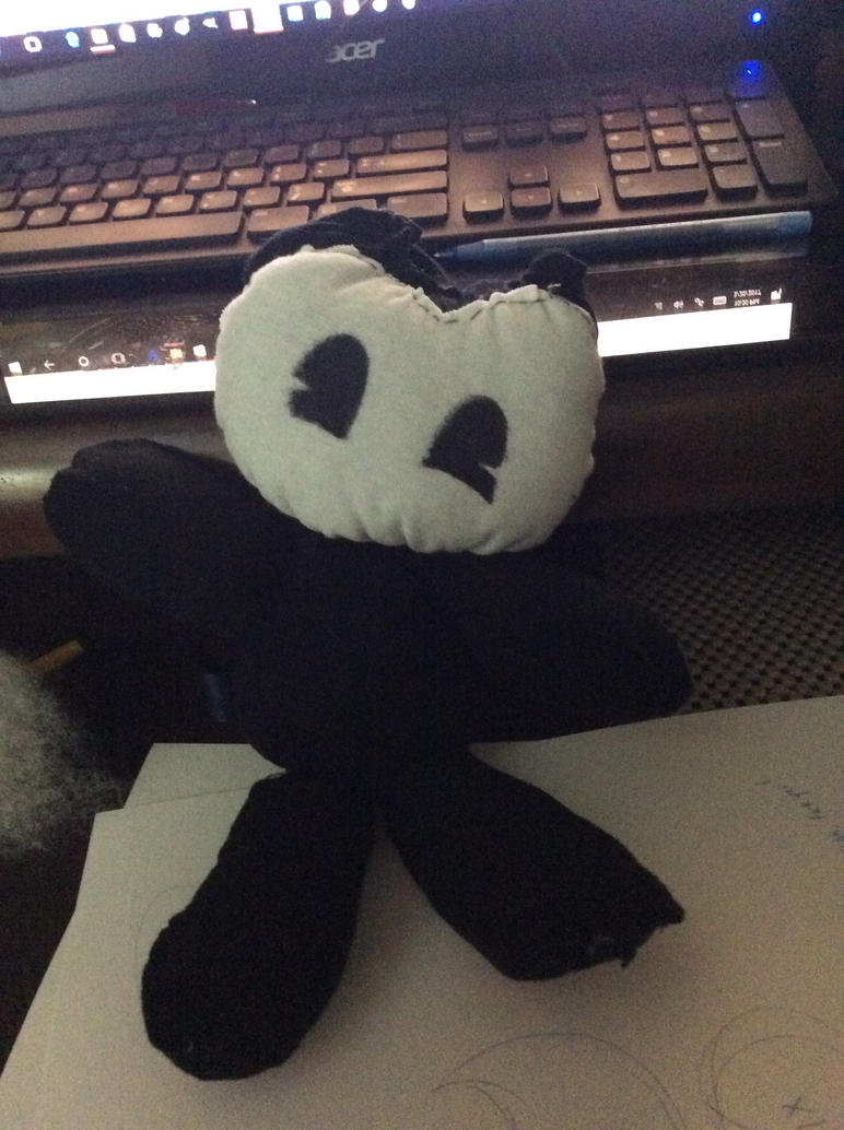 BatIM: Bendy Plushie by ModernLisart on DeviantArt