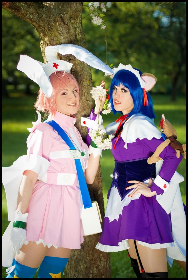 Magical Maid Koyori - Pair by Catspassion