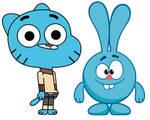 Gumball and Krash
