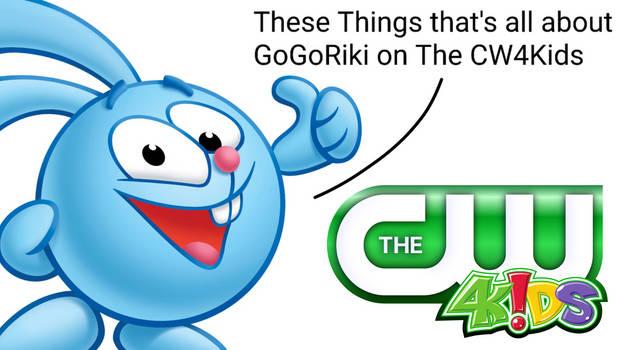 Pogoriki is smart about Gogoriki on The CW4Kids