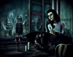 Dark Nights In Rapture... by TheMadArchitect