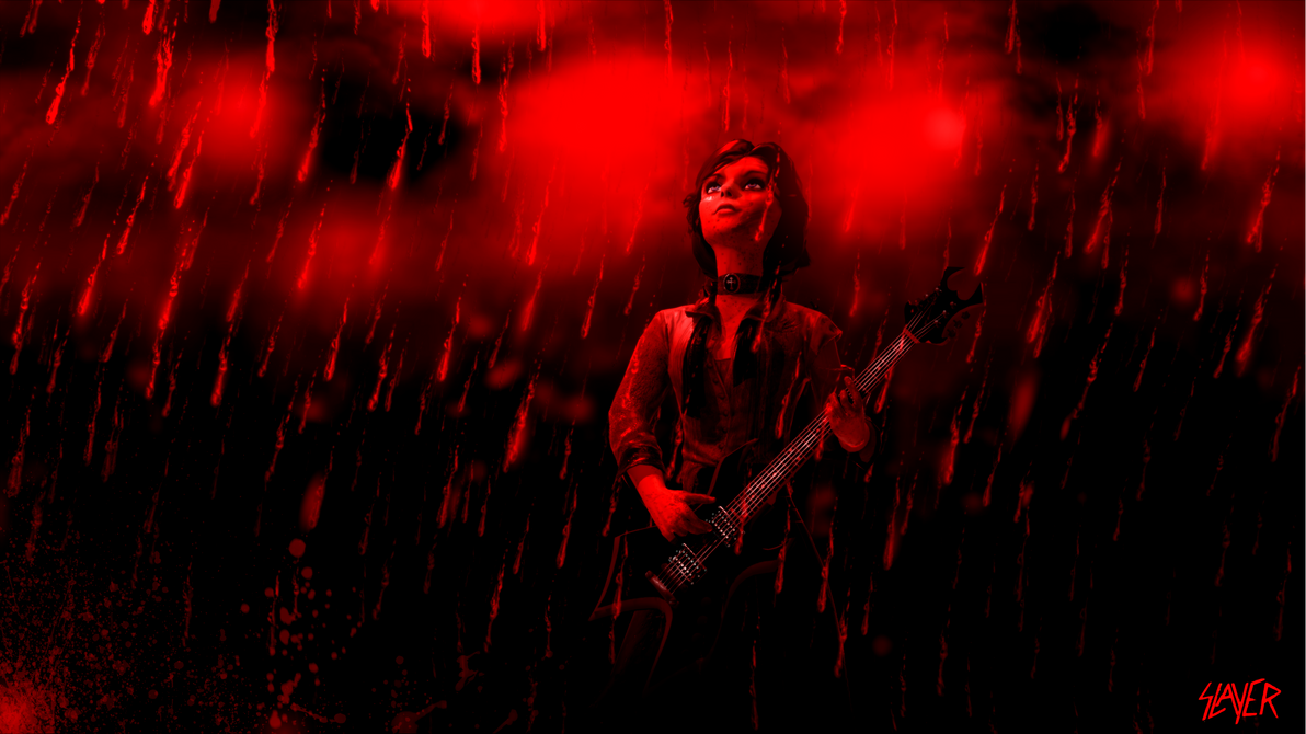 Raining Blood (Remake) by 47612784612784678128 on DeviantArt