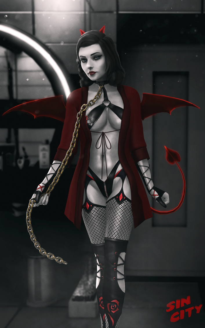 Neon Demon by TheMadArchitect