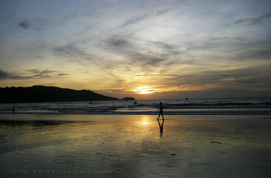 Sunset Beach by w-s-n