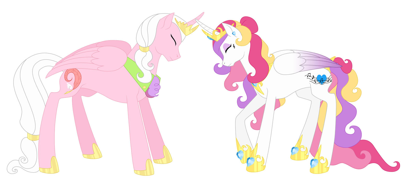 Princess Cadence's Parents by AlexKingOfTheDamned on ...