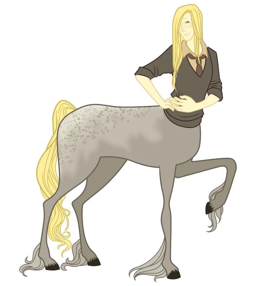 Centaur in Hogwarts by AlexKingOfTheDamned
