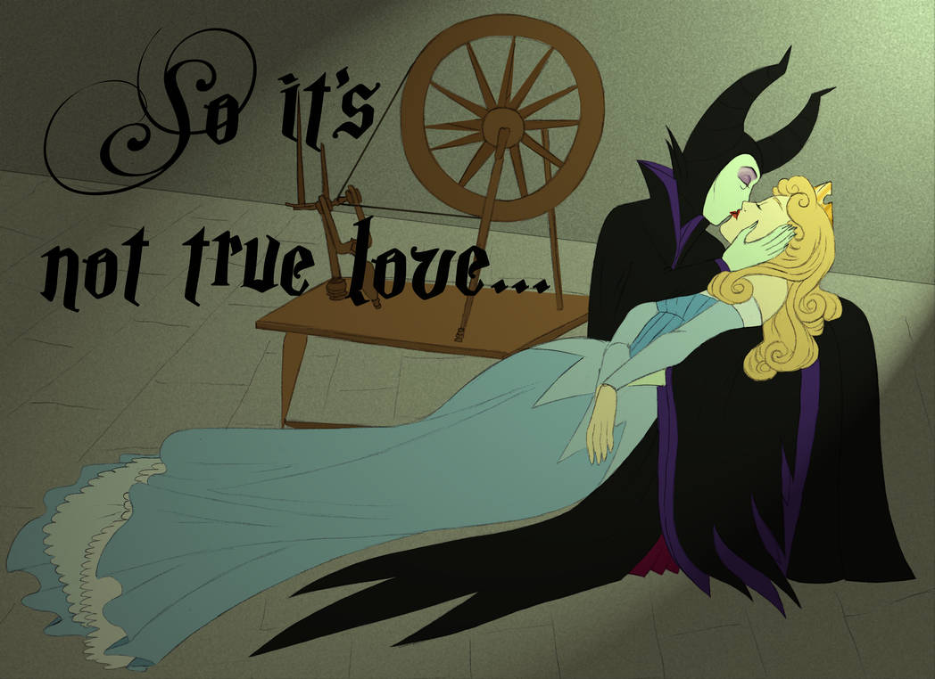 Femslash February : Aurora/Maleficent by AlexKingOfTheDamned