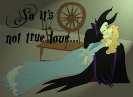Femslash February : Aurora/Maleficent by AlexKingOfTheDamned