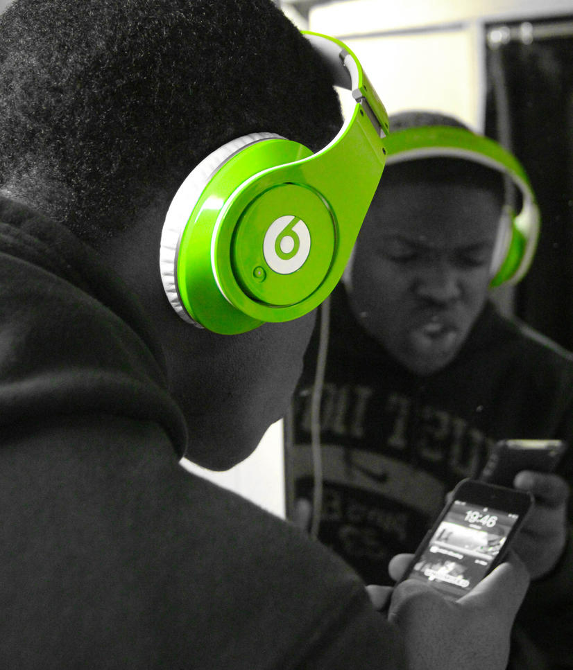 Just Do it with beats by Dr Dre by babbsphoto