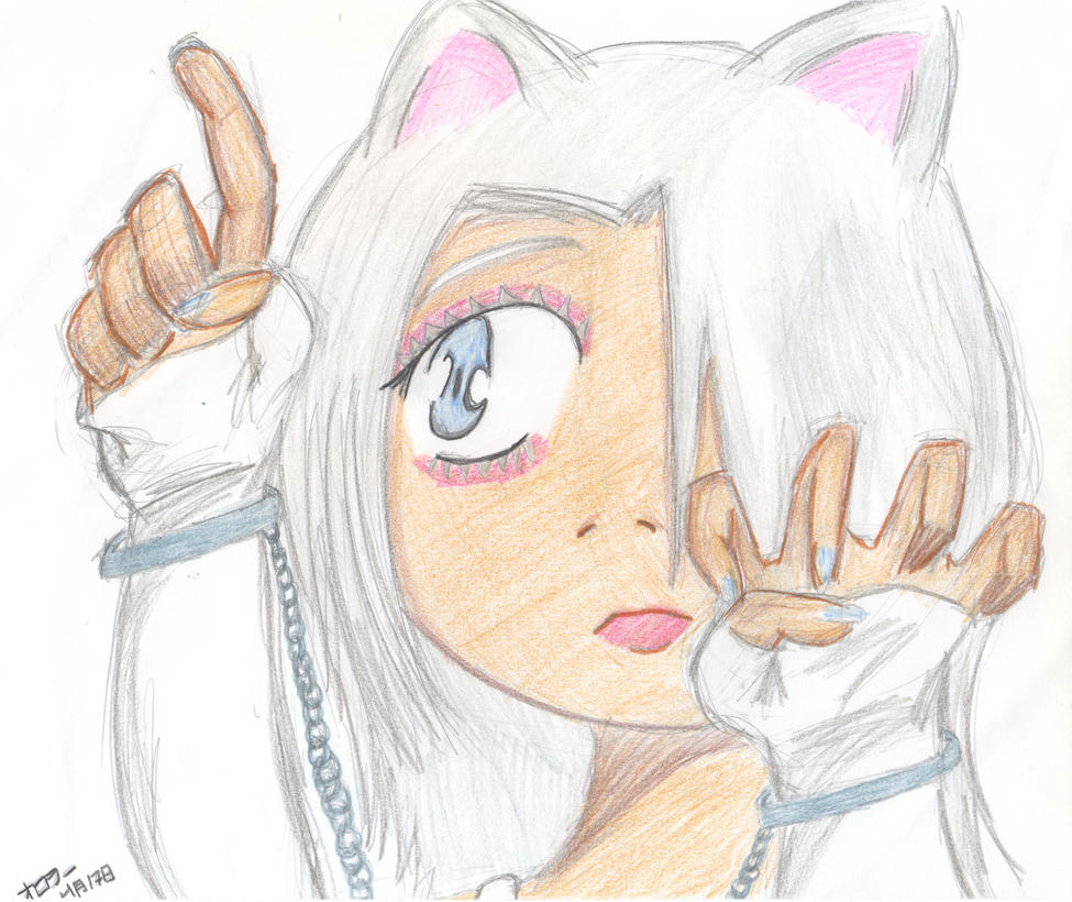 Iris as White Mako by foamingfangirl