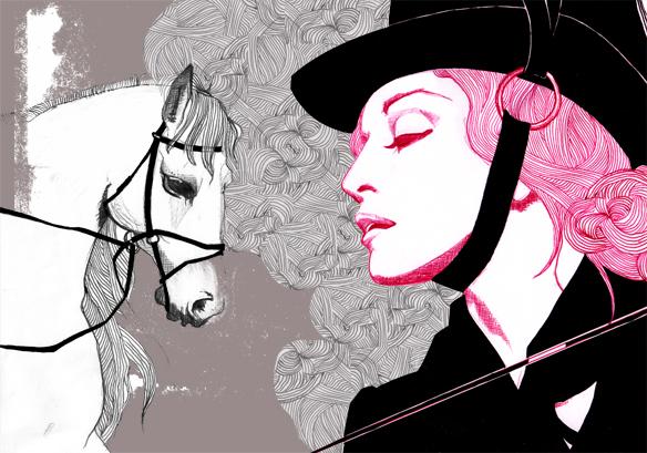 Madonna rides again... by lebeaumale