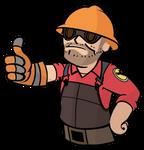 Red Vault-Boy Engi