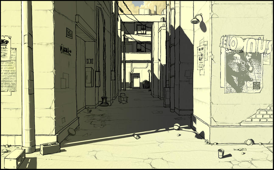 Pay Here Buy Here >> Back Alley by SELONUS on DeviantArt