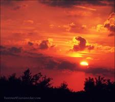 sunset by Yustinee93