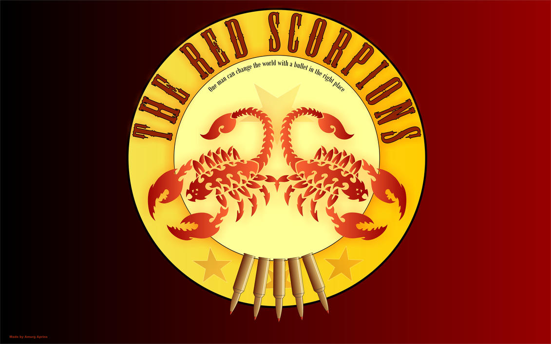 Red scorpion wallpaper - photo#12