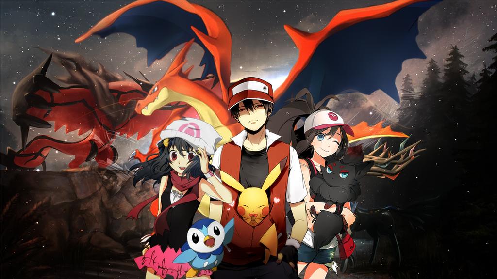 Pokemon Wallpaper 1920x1080 by S4ii on DeviantArt
