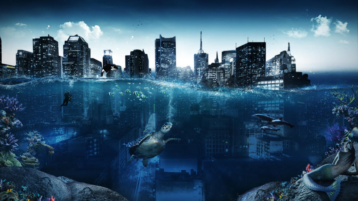 Water speed art by G0ldenART