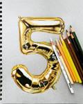 Color Pencil Balloon