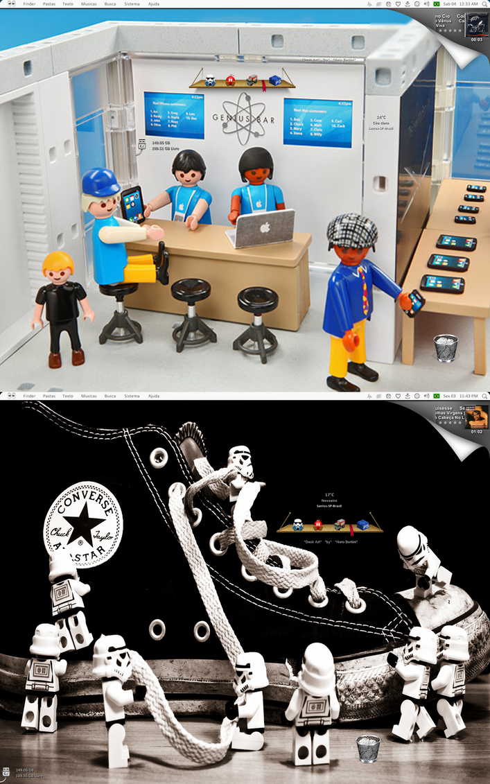 Playmobil VS Lego by NetoBettini