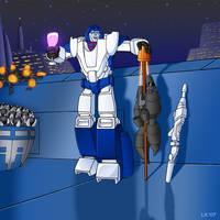 Cybertronian Mirage by Oreobot