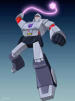 Battle Megatron by Oreobot