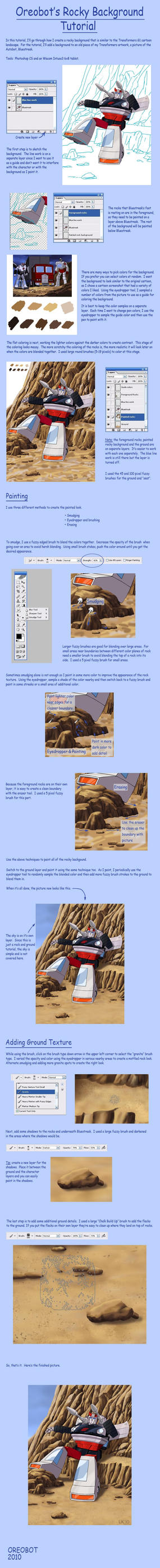 Rocky Background Tutorial by Oreobot