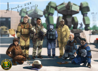 Front mission by CKyHC