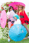 Evangelion Night Festival cosplay