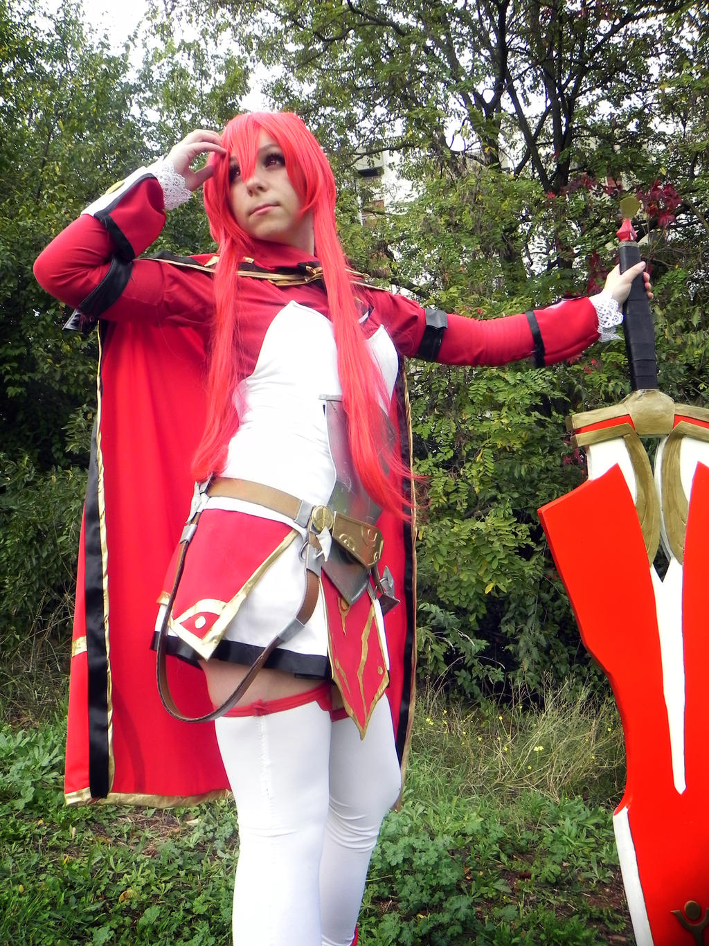Elesis Sieghart cosplay by HeavenAndSky