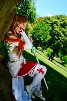 Asuna cosplay by HeavenAndSky