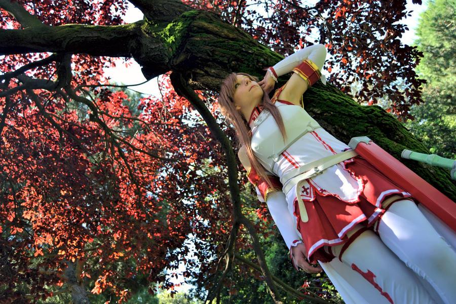 Asuna Yuuki cosplay by HeavenAndSky