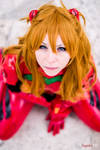 Asuka Soryu Langley plugsuit cosplay