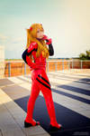 Asuka plugsuit cosplay