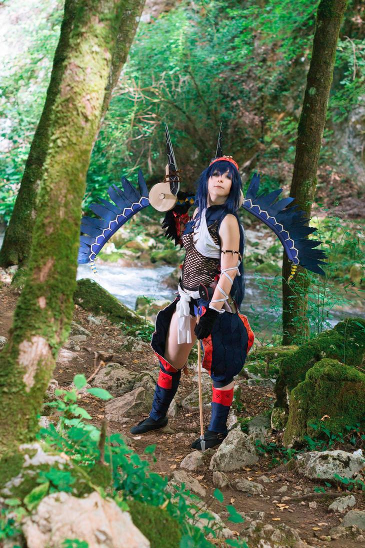 Narga X cosplay by HeavenAndSky