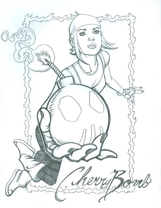 Cherry Bomb by dlxcsccomicarti by Cherrybombhits