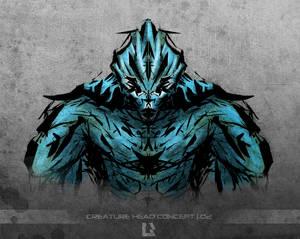 Creature head concept 02