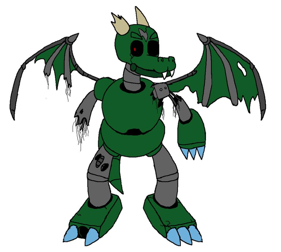 dragon robot reactivated by xxangelknightxx on deviantart