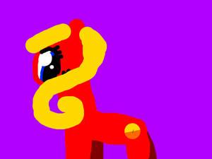 Random pony that i'm using to test a sketchy style