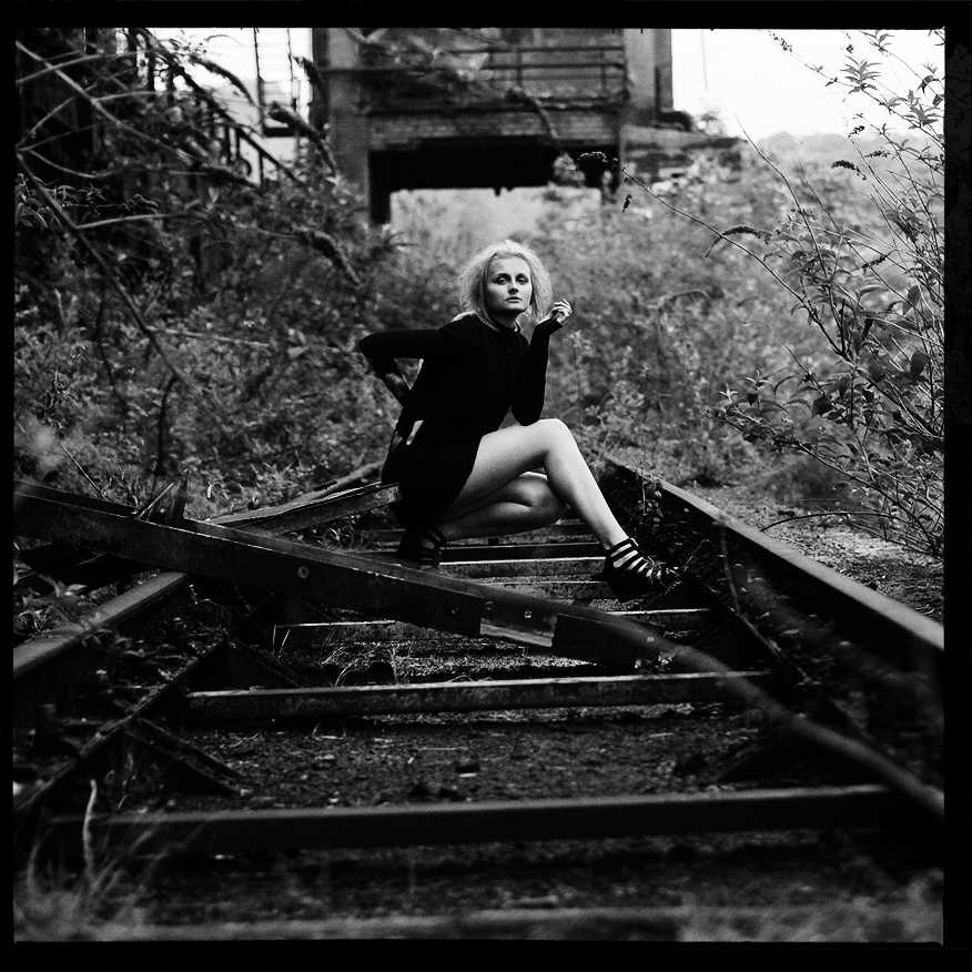 Pretty young women tied on railroad tracks naked authoritative