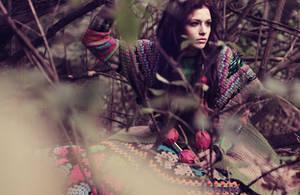 The Woodland Girl 02 by milkandblue