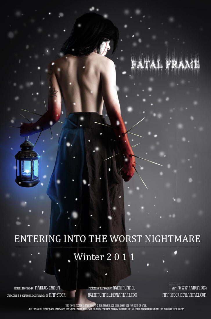 Fatal Frame Movie Poster by AgentPummel on DeviantArt