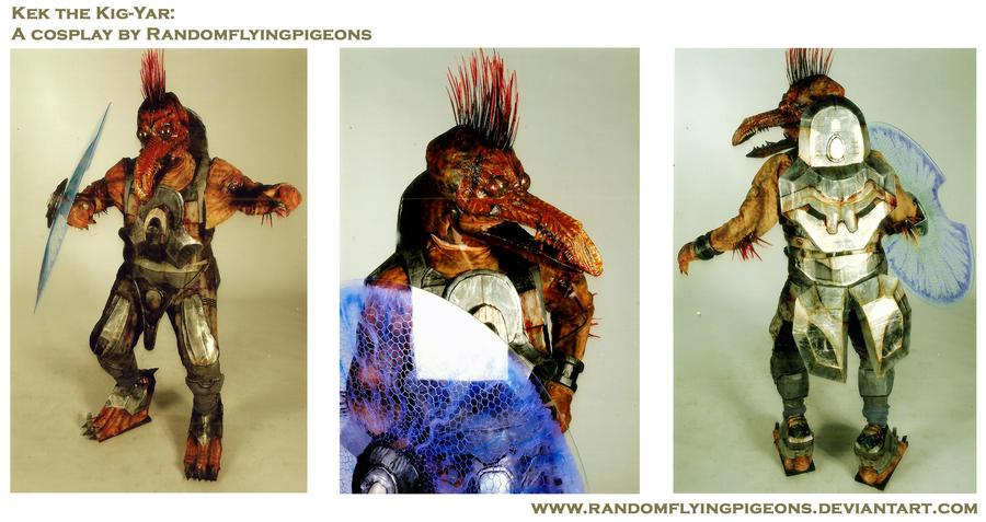 Kek the Kig-Yar by randomflyingpigeons