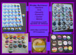 Custom Pride Buttons - Gender/Sexuality/Kink/LGBT