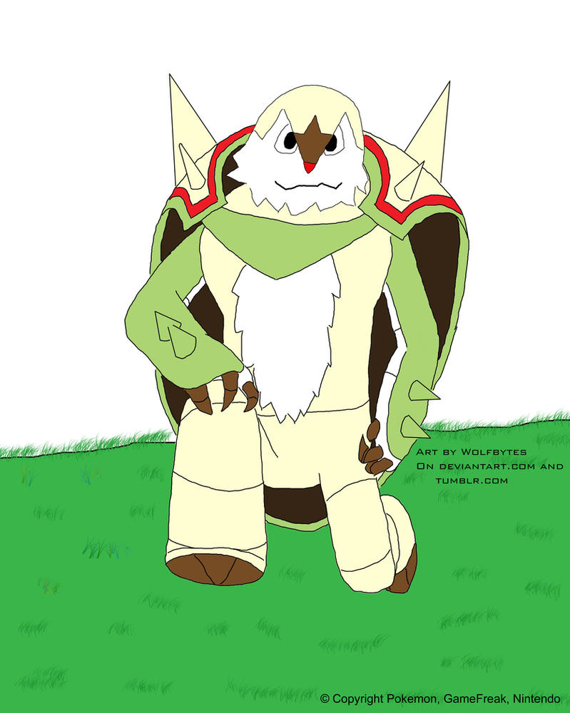 Chesnaught by WolfBytes