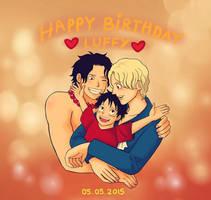 Happy Birthday Luffy 2015 !