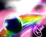 Sam and the Rainbow of positivity by Umeko