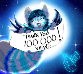 100 000 Views Thank You by Umeko