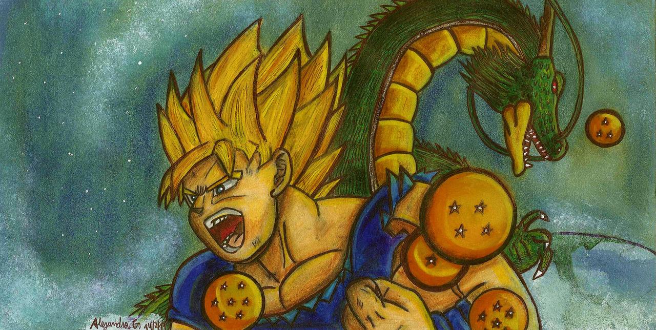 dragon ball z by tigrisssilvery