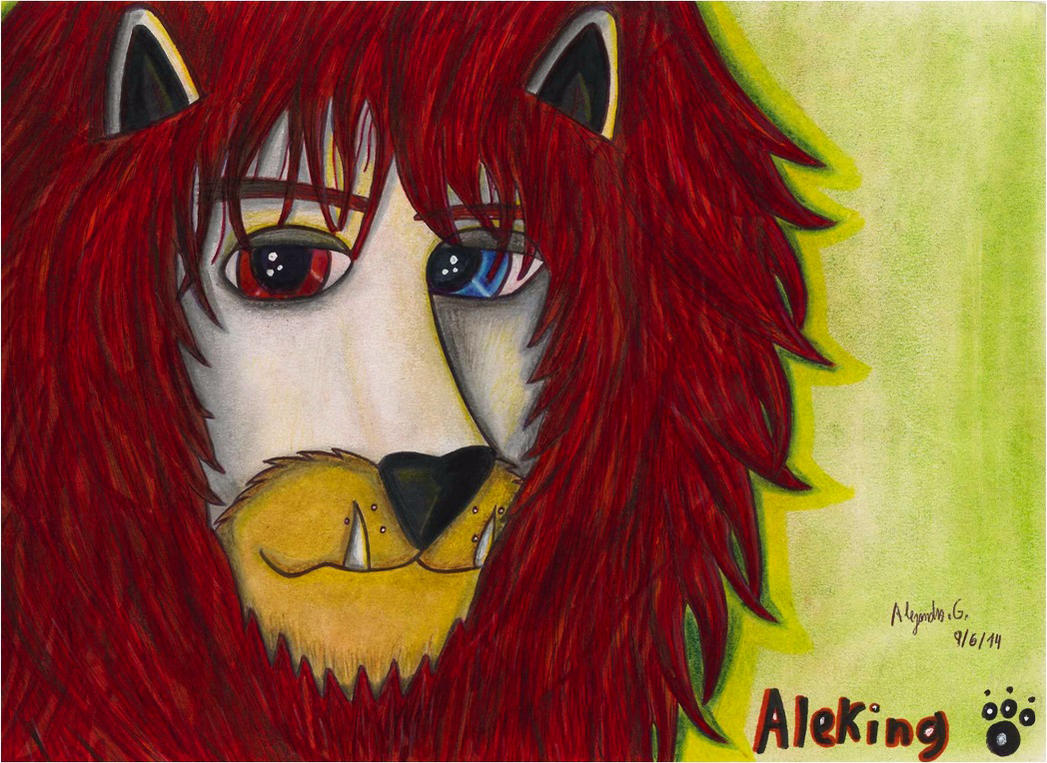 aleking tiger (the lion) by tigrisssilvery